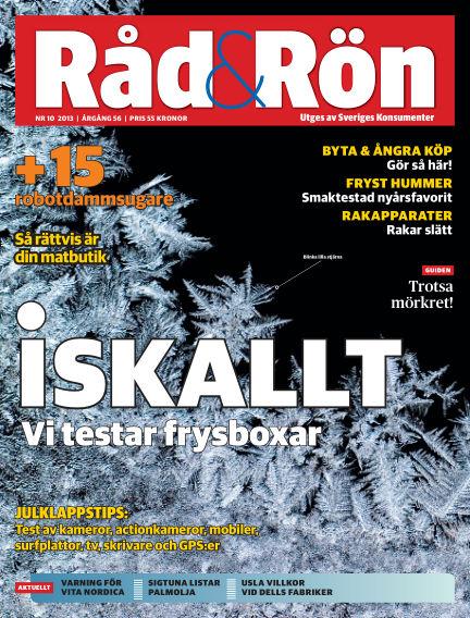 Råd & Rön December 03, 2013 00:00