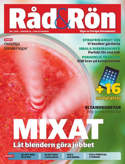 Råd & Rön January 28, 2014 00:00