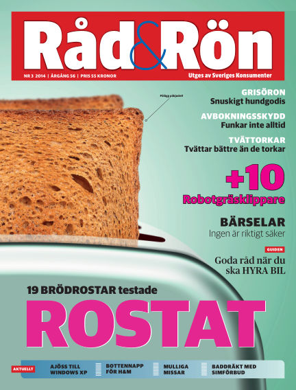 Råd & Rön April 01, 2014 00:00