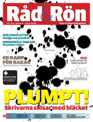 Råd & Rön 2014-09-02