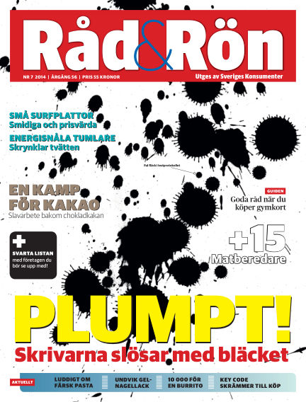 Råd & Rön September 02, 2014 00:00