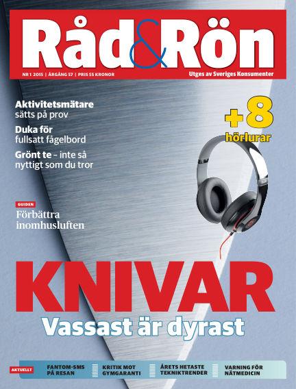 Råd & Rön February 03, 2015 00:00