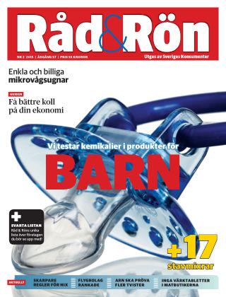 Råd & Rön 2015-03-03