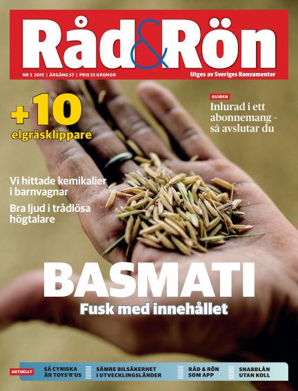 Råd & Rön March 31, 2015 00:00