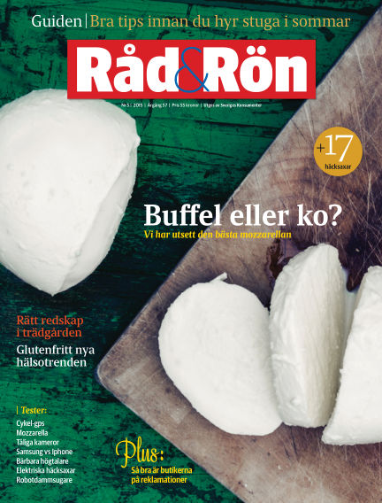 Råd & Rön June 02, 2015 00:00