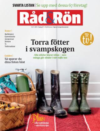 Råd & Rön 2015-09-01