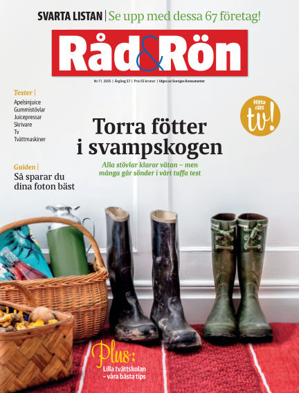 Råd & Rön September 01, 2015 00:00