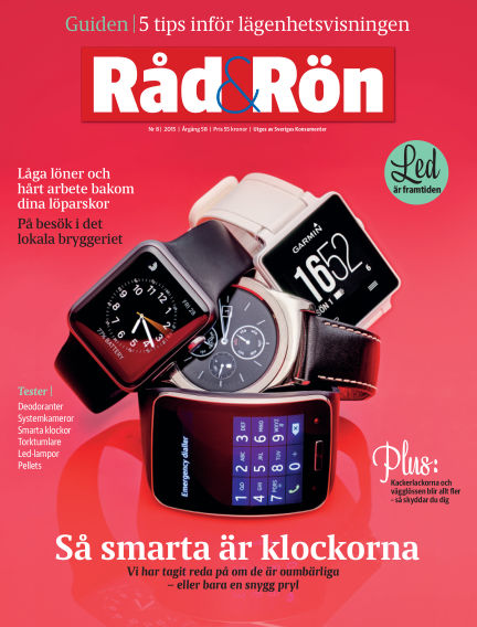 Råd & Rön September 29, 2015 00:00