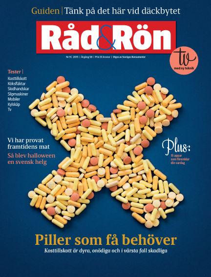 Råd & Rön November 03, 2015 00:00