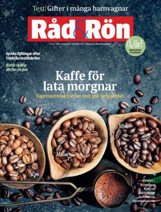 Råd & Rön 2016-05-03