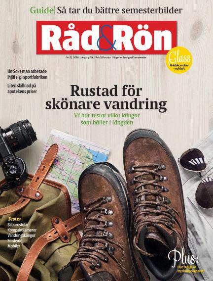 Råd & Rön May 31, 2016 00:00