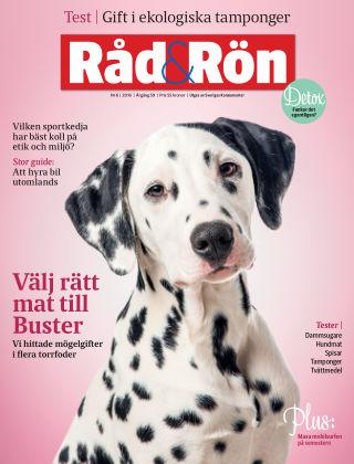 Råd & Rön 2016-07-05