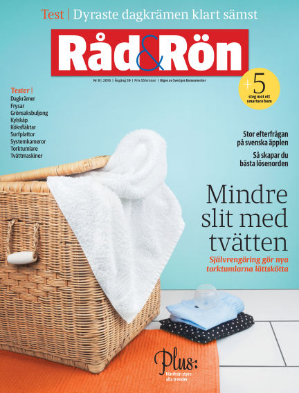 Råd & Rön October 04, 2016 00:00