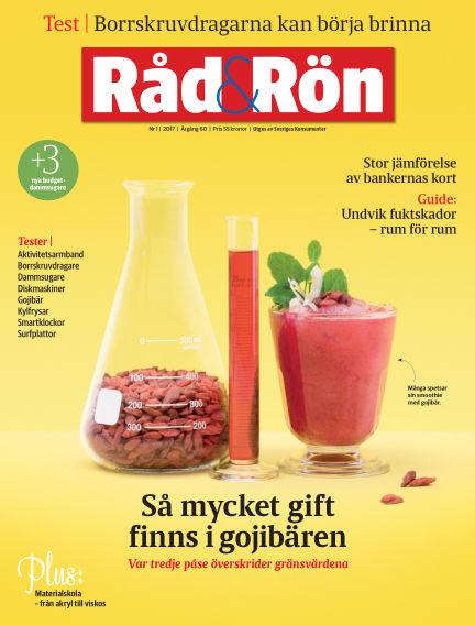 Råd & Rön January 31, 2017 00:00