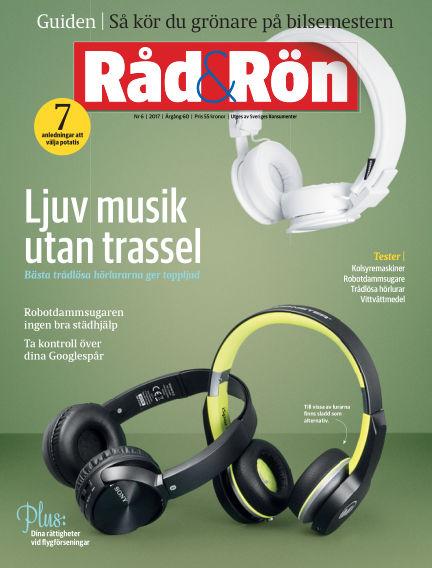 Råd & Rön July 04, 2017 00:00