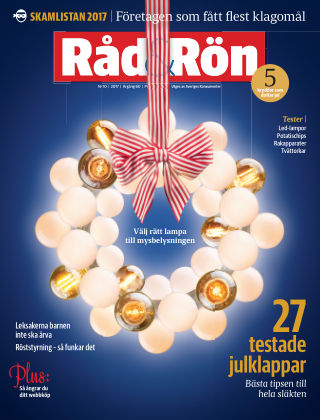 Råd & Rön 2017-12-05