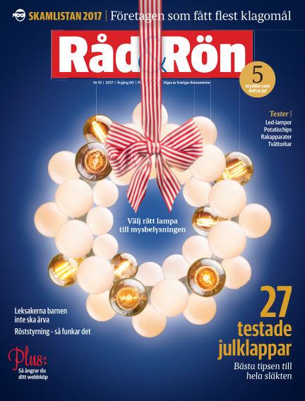 Råd & Rön December 05, 2017 00:00