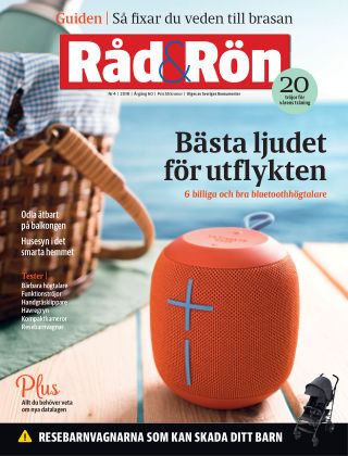 Råd & Rön 2018-05-01