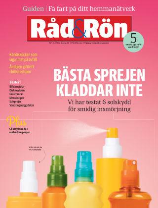 Råd & Rön 2018-05-29