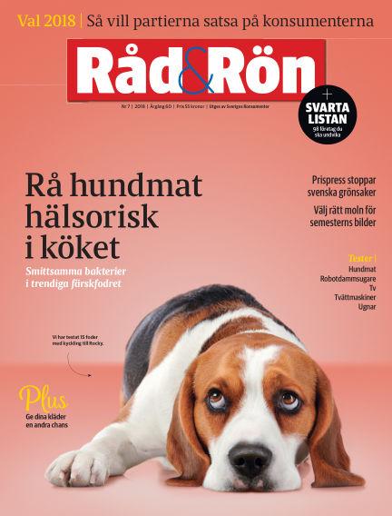 Råd & Rön September 04, 2018 00:00