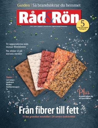 Råd & Rön 2018-10-30