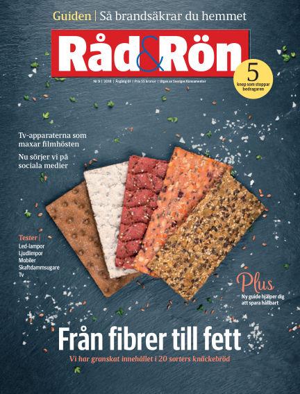 Råd & Rön October 30, 2018 00:00