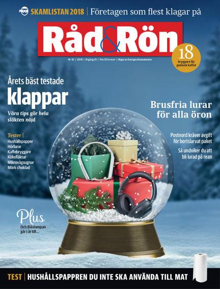 Råd & Rön December 04, 2018 00:00