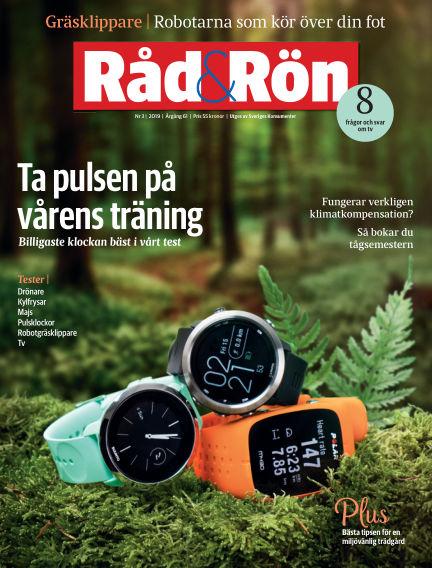 Råd & Rön April 02, 2019 00:00