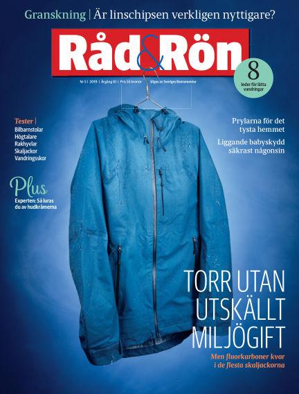 Råd & Rön June 04, 2019 00:00