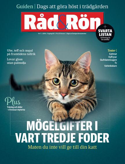 Råd & Rön September 03, 2019 00:00