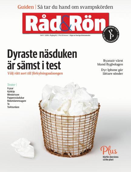 Råd & Rön October 01, 2019 00:00