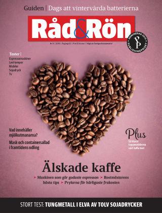 Råd & Rön 2019-10-30
