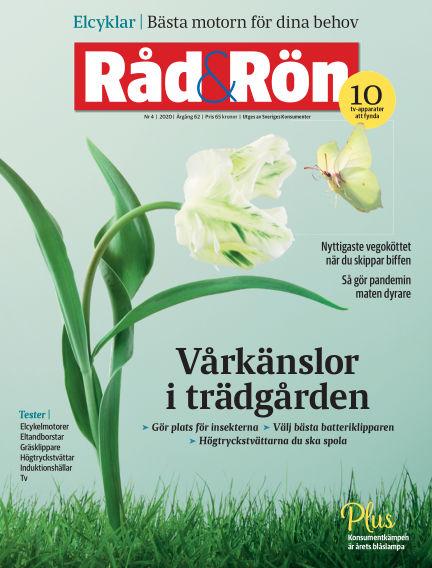 Råd & Rön May 08, 2020 00:00