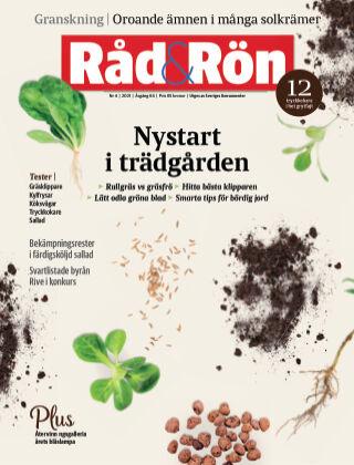 Råd & Rön 2021-05-06