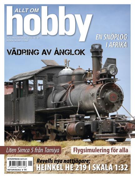 Allt om Hobby (Inga nya utgåvor) February 12, 2013 00:00