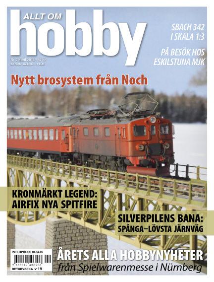 Allt om Hobby (Inga nya utgåvor) March 26, 2013 00:00