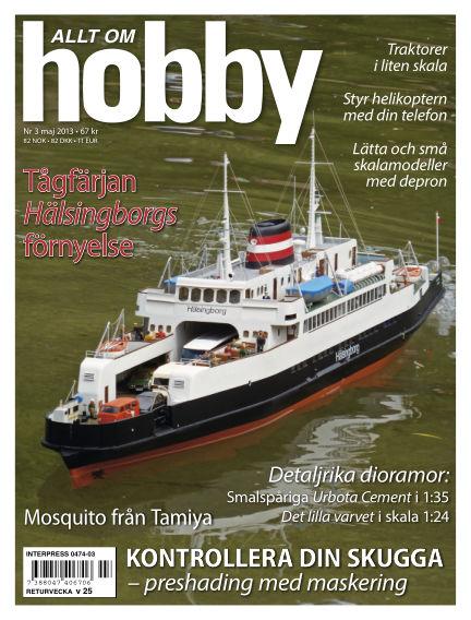 Allt om Hobby (Inga nya utgåvor) April 30, 2013 00:00