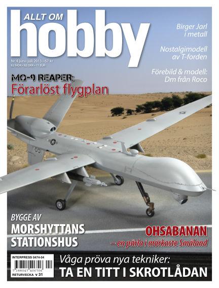 Allt om Hobby (Inga nya utgåvor) June 11, 2013 00:00