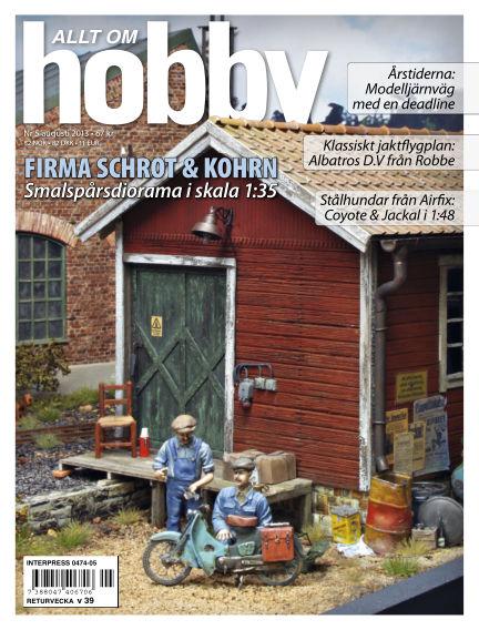 Allt om Hobby (Inga nya utgåvor) July 23, 2013 00:00