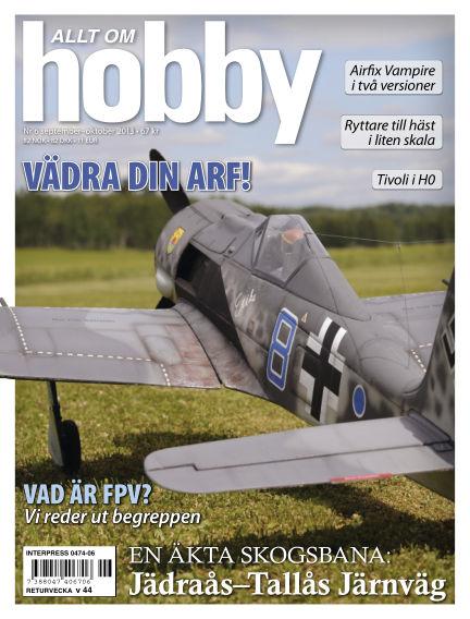 Allt om Hobby (Inga nya utgåvor) September 17, 2013 00:00