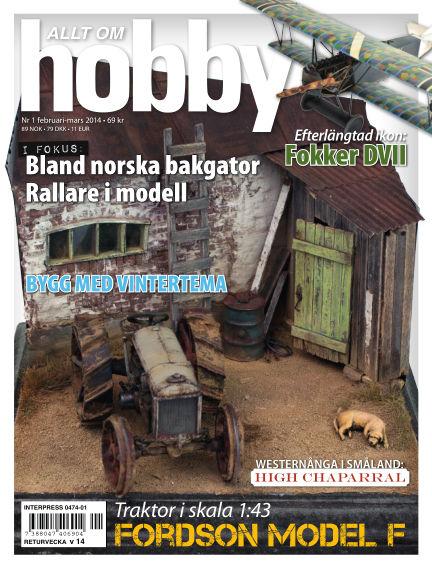 Allt om Hobby (Inga nya utgåvor) February 04, 2014 00:00