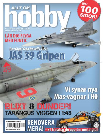 Allt om Hobby (Inga nya utgåvor) February 03, 2015 00:00