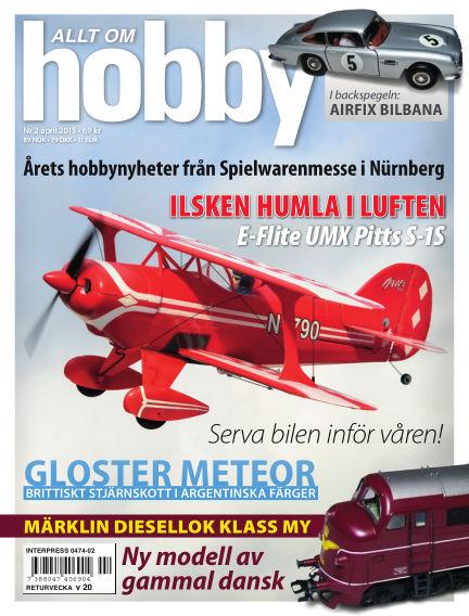 Allt om Hobby (Inga nya utgåvor) March 24, 2015 00:00