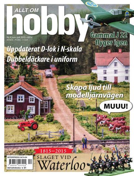 Allt om Hobby (Inga nya utgåvor) June 12, 2015 00:00