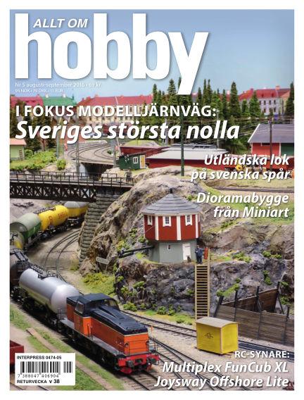 Allt om Hobby (Inga nya utgåvor) August 08, 2016 00:00