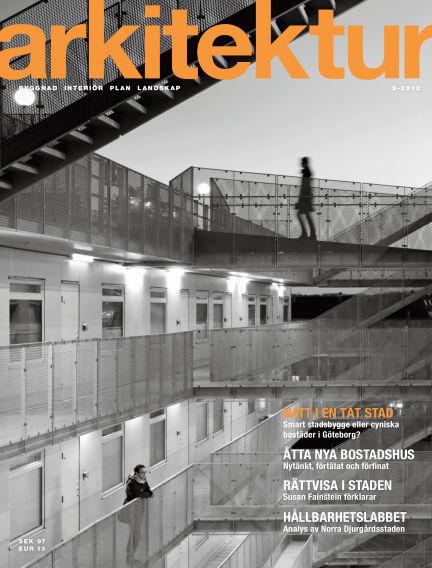 Arkitektur (Inga nya utgåvor) March 07, 2012 00:00