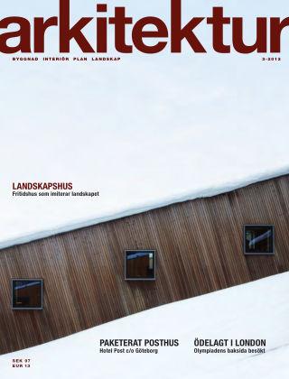Arkitektur (Inga nya utgåvor) 2012-04-20