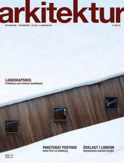 Arkitektur (Inga nya utgåvor) April 20, 2012 00:00