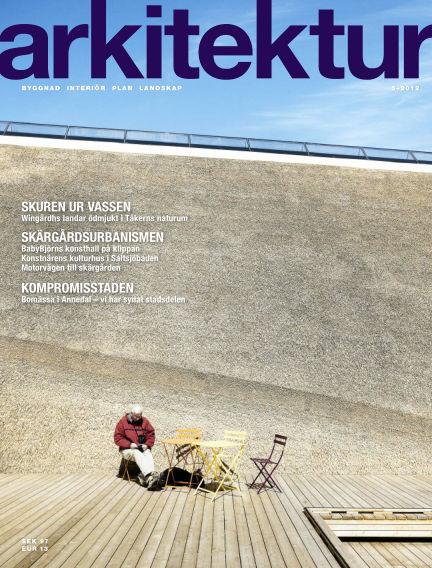 Arkitektur (Inga nya utgåvor) August 23, 2012 00:00