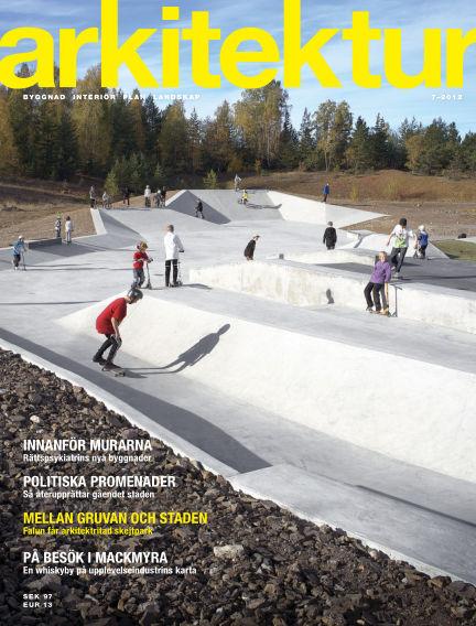 Arkitektur (Inga nya utgåvor) November 01, 2012 00:00